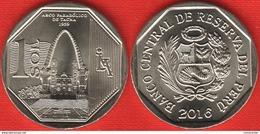 "Peru 1 Sol 2016 ""Parabolic Arc Of Tacna"" UNC - Pérou"