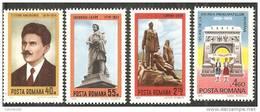 Romania 1979 Nuovo** - Mi.3607/10  Yv.3181/84 - 1948-.... Repubbliche