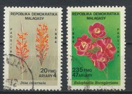 °°° MADAGASCAR - Y&T N°726/27 - 1984 °°° - Madagascar (1960-...)