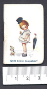 Petit Almanach Pour 1924 Illustrateur Béatrice Mallet Patisserie - Confiserie J. BRUCH Bordeaux - Tamaño Pequeño : 1921-40