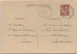 France Entiers Postaux - 80c Iris - Carte Postale - Entiers Postaux