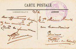 France , De Hopital Complementaire N°30, De Menton  TB - Poststempel (Briefe)