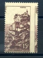 FRANCE VARIETES PIQUAGE MAURY N° 763B ** MNH - Curiosités: 1945-49 Neufs