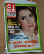 Ciné Revue 5 2/2/1984 John Forsythe, Catherine Deneuve, Jacques Villeret, Tarzan  Johnny Weissmuller, Yann Le Gag - Cine