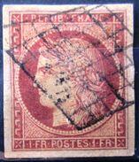 FRANCE              N° 6               OBLITERE - 1853-1860 Napoléon III