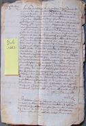 DOCUMENT A DECHIFFRER 1662 - Documents Historiques