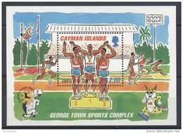 Cayman Islands - 1995 Caribbean Sports Games Block MNH__(TH-5759) - Kaaiman Eilanden