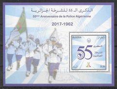 2017 ALGERIE BF 29 ** Police, Drapeau - Algeria (1962-...)