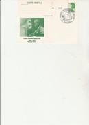 ENTIER POSTAL REPIQUE  N° 2318 CP1 - OBLITERE CACHET ILLUSTRE HOMMAGE  A L MULLER -VENISSIEUX 1985 - Enteros Postales