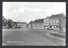 +++ CPA - PRESLES - Place Communale - Café De La Librairie     // - Aiseau-Presles
