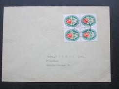 DR 1929 / 30 Nr. 430 Deutsche Nothilfe Landeswappen Bremen MeF Als 4er Block!! Gemeindeamt Hundsbach. - Briefe U. Dokumente