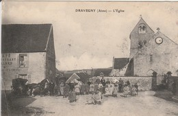 CPA : DRAVEGNY  L ' Eglise - France