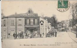 CPA : BRY Sur MARNE  Place Du Chateau - Bry Sur Marne