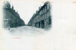 PONTARLIER - La Grande Rue Pré Imprimé Années 1890 - Pontarlier
