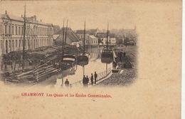 Grammont Les Quais Et Les écoles Communales - Geraardsbergen