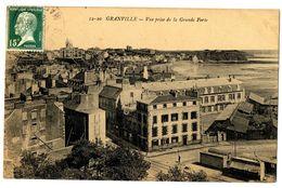 CPA 50 Manche Granville Vue Prise De La Grande Porte - Granville