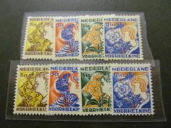 E 790) Niederlande**/* Nr 253-56 Kinderhilfe 1932 Beide Zähnungen,A=**,C=*,Michelwert Ca 180 EUR - Neufs