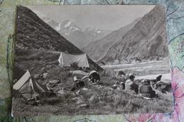 TAJIKISTAN - Gorno-Badakhshan Autonomous Region, Pamir Mountains - Old Soviet Postcard 1963 Mountaineering Alpinisme - Tajikistan