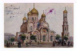 Warszawa. Varsovie. La Cathédrale Russe. (2073r) - Pologne