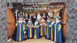 CPSM GIVRY 71 BOURGOGNE LES DIGNITAIRES DU CEP HENRI IV ED PICARD VIGNERONS DE ST VINCENT CONFRERIE - Sonstige Gemeinden