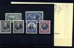 1480- Grecia 369/74 - Unused Stamps
