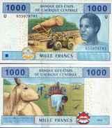 Central Africa States - Cameroun 1000 FRANCS 2002) Pick 207U UNC - Cameroun