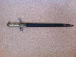 Baionnette Modéle 1871   Régimentèe  36 . R . R . E . 2 . 129 - Armes Blanches