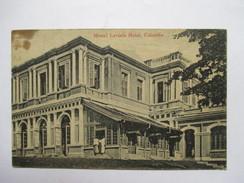 CEYLAN  -  COLOMBO   - MOUNT  LAVINIA  HOTEL       TRES   ANIME        Pte. TACHE - Sri Lanka (Ceylon)