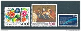 France Timbres De 1988/89  N°2557 A 2559  Neuf ** Parfait Vendu Prix De La Poste - Ungebraucht