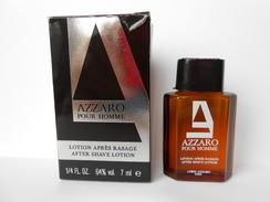 (99) AZZARO Loris  Azzaro Pour Homme - Miniature De Parfum - Miniatures Hommes (avec Boite)