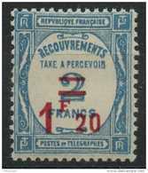 France (1929) Taxe N 64 (charniere) - Taxes