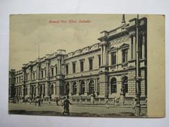 CEYLAN  -  COLOMBO   - GENERAL POST  OFFICE           ANIME      TTB - Sri Lanka (Ceylon)