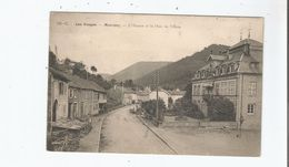 MOUSSEY 102 LES VOSGES L'HOSPICE ET LE HAUT DU VILLAGE 1915 - Moussey
