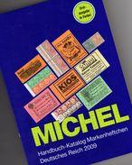 MlCHEL Handbuch Markenhefte Deutsche Reich 2009 New 98€ Handbook With Special Carnets Booklets Catalogue Of Germany - Manuali