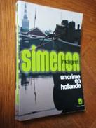 GEORGES SIMENON   Le Commissaire MAIGRET   UN CRIME EN HOLLANDE - Simenon