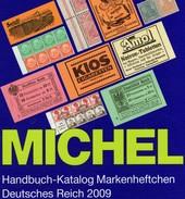 Markenheft MlCHEL Handbuch Deutsche Reich 2009 Neu 98€ Handbook With Special Carnets Booklets Catalogue Old Germany - Erstausgaben