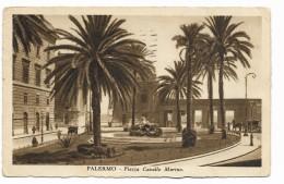 PALERMO - PIAZZA CAVALLO MARINO  VIAGGIATA  FP - Palermo