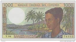 COMOROS P. 11b 1000 F 1994 UNC (s. 9) - Comoros
