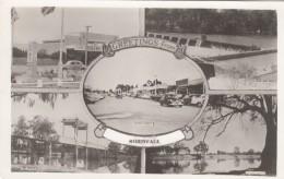 Robinvale Victoria Australia, Greetings From Theme, Multi-view Town River And Dam Scenes, C1950s Vintage Postcard - Australia