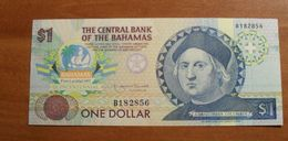 1992 - Bahamas - ONE DOLLAR, Christopher Colombus, B182856 - Bahamas