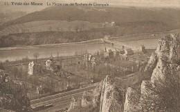 Yvoir-sur-Meuse 11 - La Meuse Vue Des Rochers De Champale - Dinant