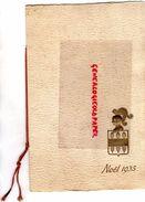 62- LE TOUQUET- RARE BEAU MENU DINER DE NOEL 25 DECEMBRE 1935 A L' HERMITAGE HOTEL RESTAURANT-MARENNES DE CHEZ PRUNIER - Menus