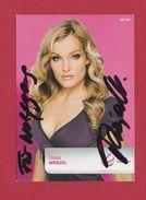 Tanja Wenzel (Schauspielerin), Signierte Originalautogrammkarte - Autografi