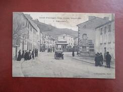CPA CIRCUIT D'AUVERGNE COUPE GORDON BENNETT 1905 PONTAUMUR    VOITURE ANCIENNE ANIMEE - Motorsport