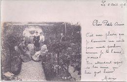 CARTE PHOTO - Circulé En 1902 - Edit. Sté Lumière, Lyon - Postkaarten