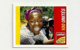 Congo, Democratic Republic - Celtel - Young Lady - GSM Refill Mini Card, 31.12.2006, 100U, Used - Congo