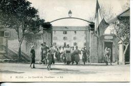 N°59164 -cpa Blida -la Caserne Des Tirailleurs- - Caserme