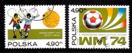POLOGNE N°   2155/56 Oblitere   Jo 1972  Cup1974  Football  Soccer  Fussball - Fußball-Weltmeisterschaft