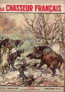 LE CHASSEUR FRANCAIS  No 754 DECEMBRE 1959 - Hunting & Fishing