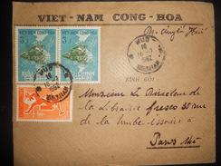 Viet Nam Lettre De 1962 Pour Paris - Vietnam